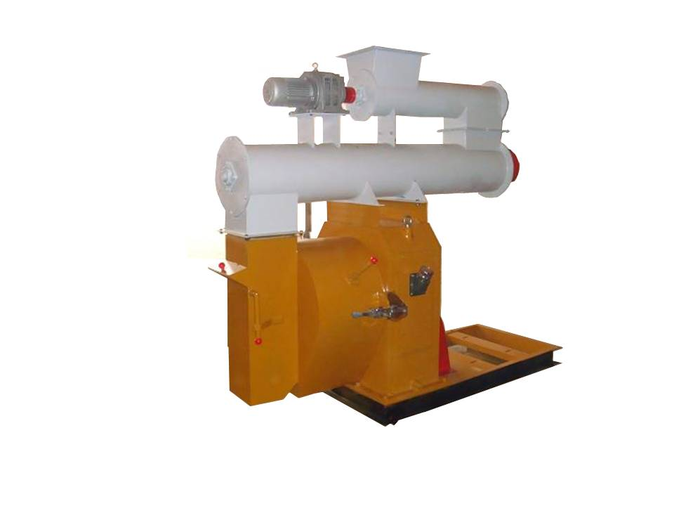 400 MM diameter die ring style Wood Pellet Mill without motor