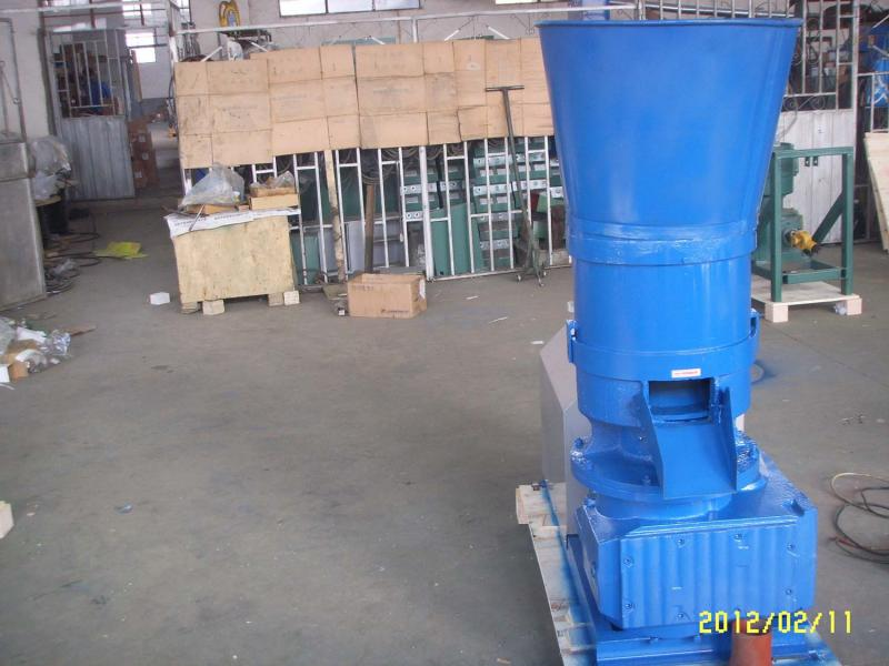 ATFPW335E WOOD PELLET MILL END VIEW