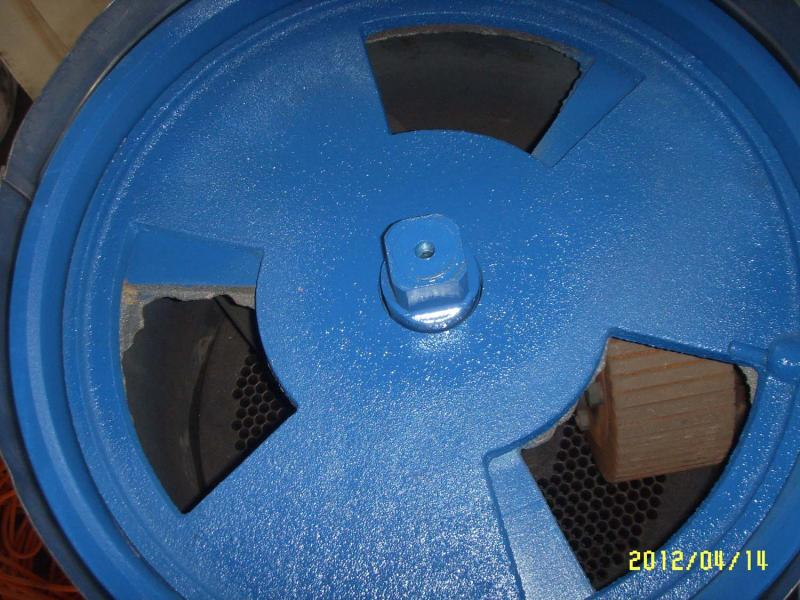 ATFPW335E WOOD PELLET MILL TOP VIEW