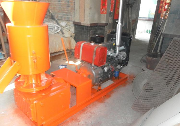ATFPW395D WOOD PELLET MILL REAR-VIEW